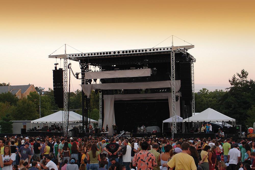 Mobile Stage Rental Network | Festival Stage Rental | Made